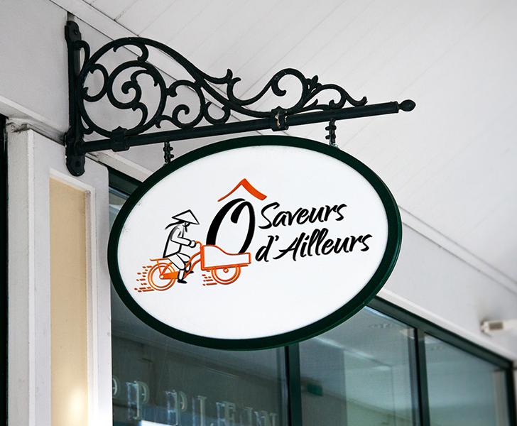 création de logo restaurant traiteur